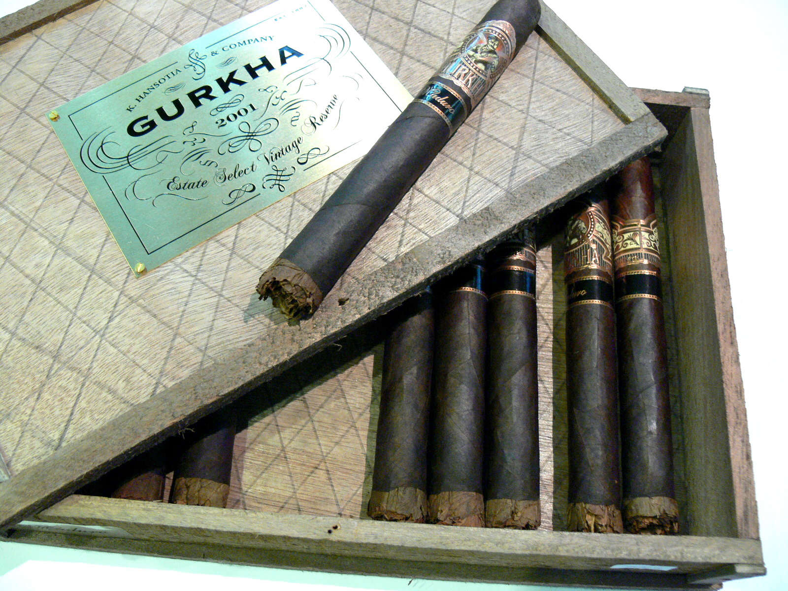 Gurkha Madur Estate Select Vintage 2001 Reserve
